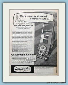 Shay Rotoscythe Original Advert 1956 (ref AD4600)