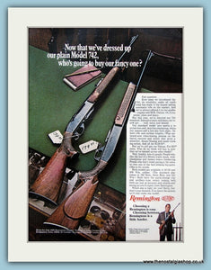Remington Arms Du Pont Original Advert 1968 (ref AD3897)