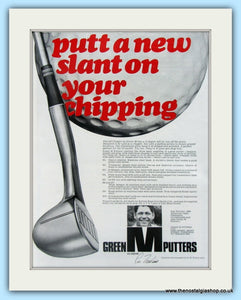 Green M Chippers. Original Advert 1969 (ref AD4993)