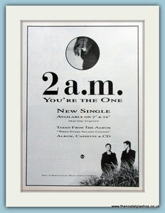 2 a.m. You're The One 1988 Original Advert (ref AD3073)