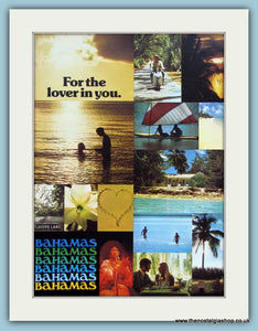 Bahamas Original Advert 1973 (ref AD2125)
