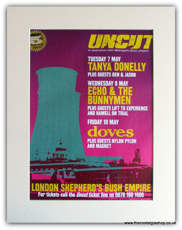 Uncut 5th anniversary Event Shepherds Bush 2002 (ref AD1766)