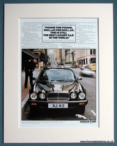Jaguar XJ 4.2 1982 Original Advert (ref AD1693)