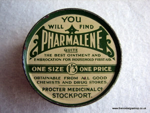 Pharmalene Tin. (ref Nos025)