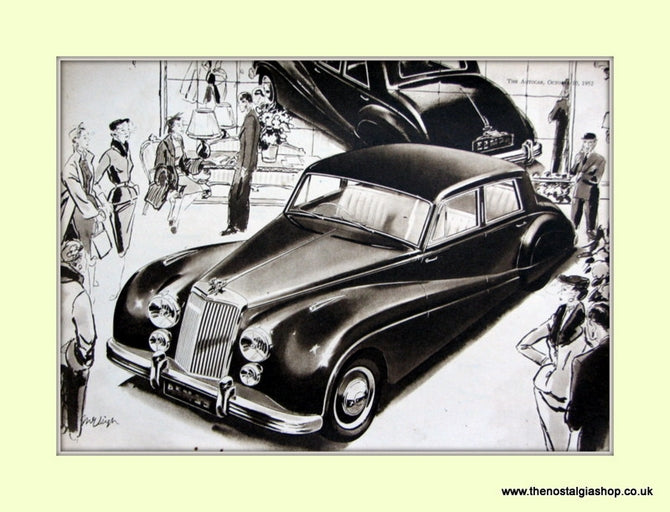 Armstrong Siddeley 1952 Original Advert (ref AD6669)