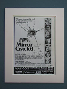 The Mirror Crack'd 1981 Original advert (ref AD709)