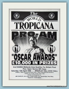 The World Tropicana Pro-Am Oscar Awards Original Advert 1996 (ref AD3939)