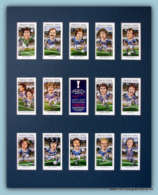 Ipswich Town UEFA Cup Winners 1980/81 Football Card Set