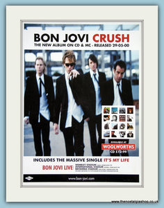 Bon Jovi Crush 2000 Original Advert (ref AD3264)