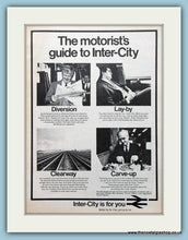 Load image into Gallery viewer, Inter-City Set of 2 Original Adverts 1972/73 (ref AD2284)