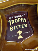 Load image into Gallery viewer, Whitbread Trophy Bitter Ash Tray (ref nos087)