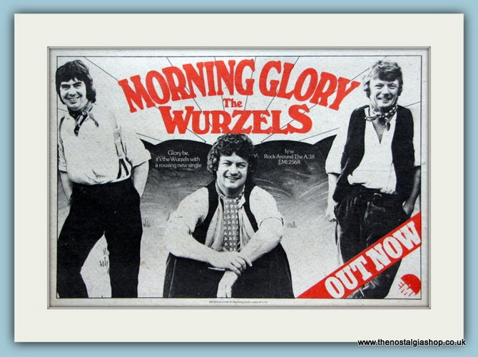The Wurzels Morning Glory Original Advert 1976 (ref AD2091)