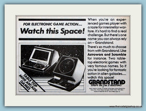 Grandstand Electronic Game Original Advert 1983 (ref AD6390)