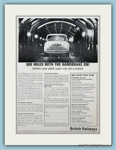 British Railways Original Advert 1964 (ref AD2301)