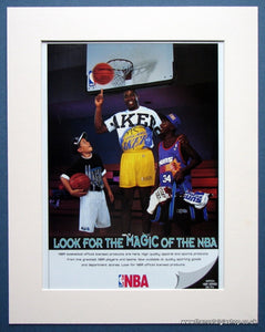 NBA - Magic Johnson Original advert 1993 (ref AD966)