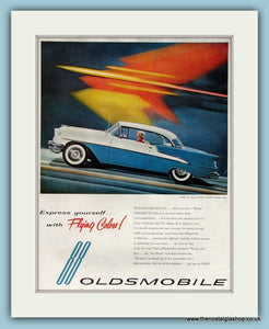 Oldsmobile Super 88 Holiday Coupe. Original Advert 1955 (ref AD8229)