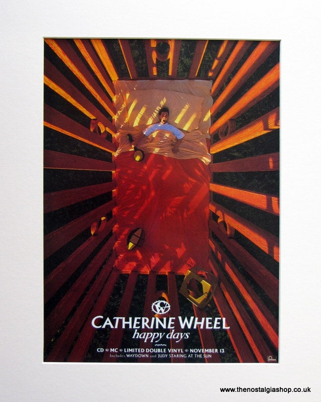 Catherine Wheel Happy Days 1995 Original Advert (ref AD944)