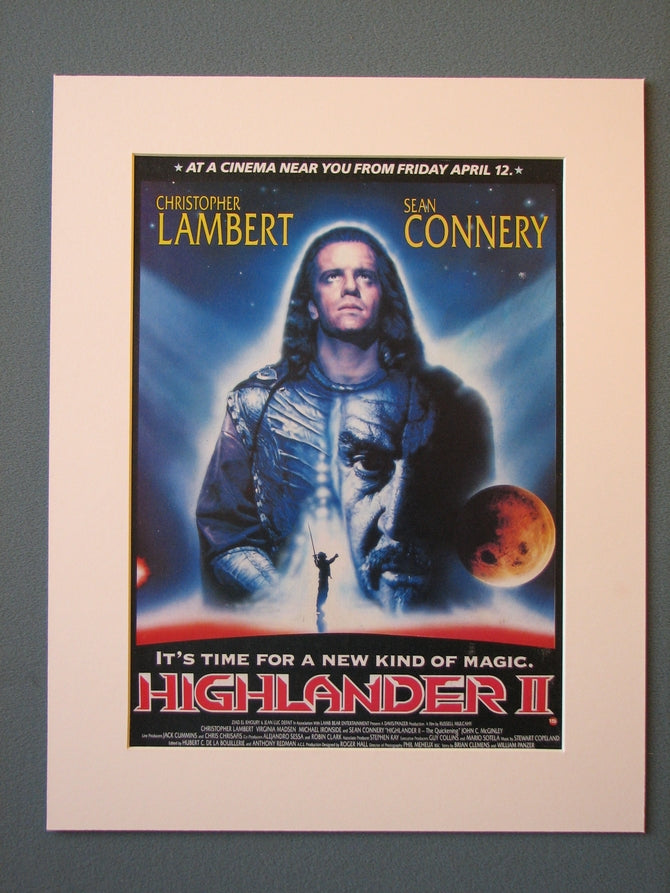 Highlander II 1991 Original advert (ref AD447)