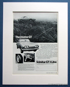 Scimitar GT 3 Litre 1970 Original Advert (ref AD1499)