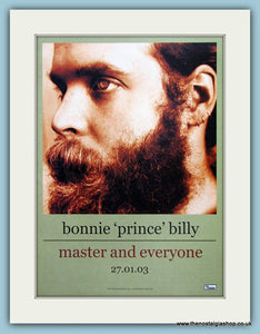 Bonnie 'Prince' Billy Master And Everyone 2003 Original Music Advert (ref AD3421)