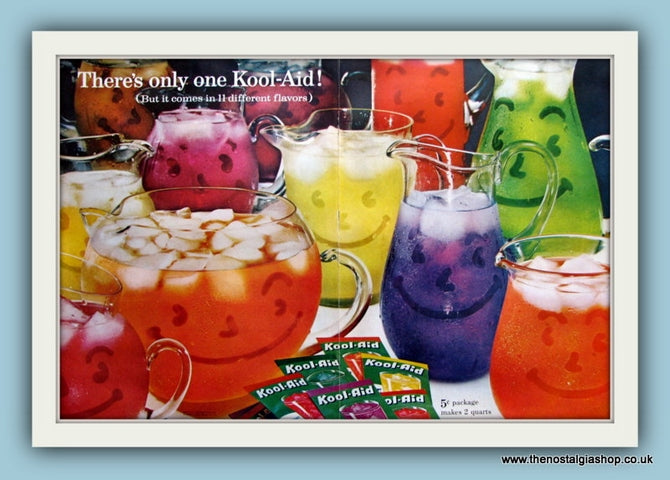 Kool-Aid Drinks. Original Advert 1961 (ref AD8149)