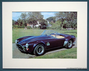 A.C. Ford Cobra 427 1966. Colour Photo Print 1975 (ref AD1331)