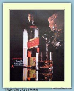 Johnnie Walker Whisky Original Advert 1969 (ref AD9349)