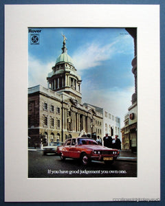 Rover 1974 Original Advert (ref AD 1631)