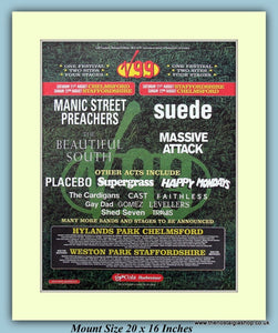 V99 Festival Original Advert 1999 (ref AD9019)