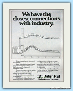 British Rail And Industry Original Advert 1978 (ref AD6532)