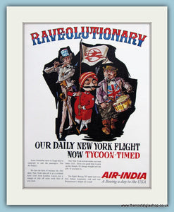 Air-India Original Advert 1966 (ref AD2178)