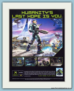 Halo, Original Advert 2002. (ref AD4023)