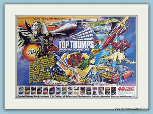 Top Trumps From Waddingtons Original Advert 1983 (ref AD6436)
