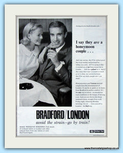 British Rail Bradford/London Original Advert 1965 (ref AD6543)