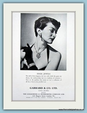 Garrard Jewellers Original Advert 1953 (ref AD6263)