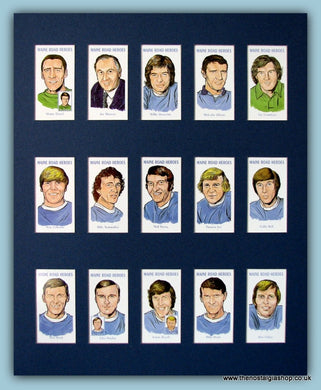 Manchester City, Maine Road Heroes. Football Card Set