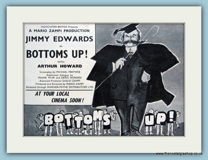 Bottoms Up, 1960 Original Advert (ref AD3188)