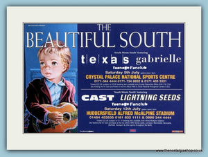 The Beautiful South Tour Original Advert (ref AD1863)