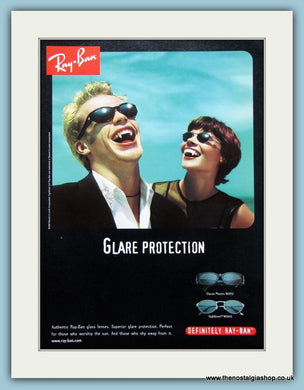 Ray-Ban Sunglasses Set Of 3 Original Adverts 1998 (ref AD2247)