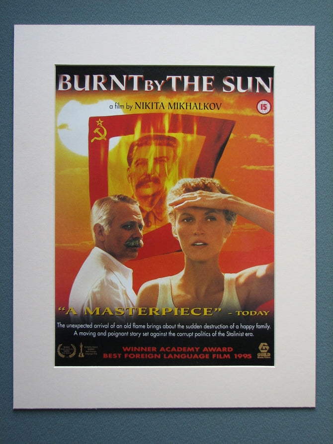Burnt By The Sun Original Advert 1996 (ref AD765)