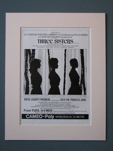 Three Sisters 1970 Original advert (ref AD489)