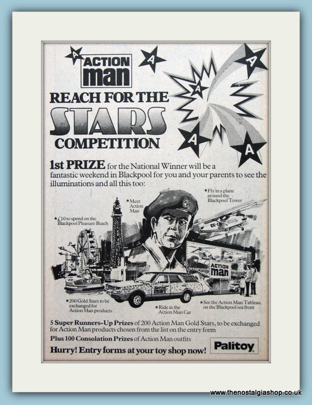 Action Man Reach For The Stars Competition Original Advert 1979 (ref AD6461)