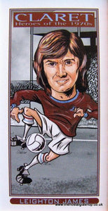 Burnley Claret, Heroes of the 1970's, Football Card Set
