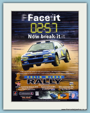 Colin McRae Rally Original Advert 2008 (ref AD4020)