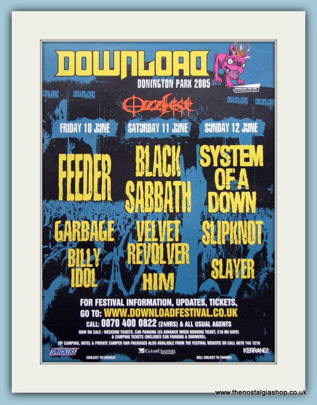 Download Music Festival Advert 2005 (ref AD3371)