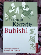 Load image into Gallery viewer, Karate Bubishi (The Bible of) Book. (ref B127)