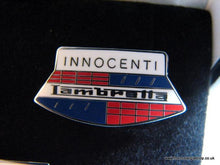Load image into Gallery viewer, Lambretta. Set of 5 Enamel Badges (inc Keyring)