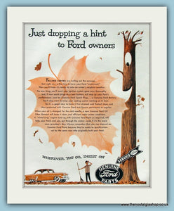 Ford Genuine Parts Original Advert 1954 (ref AD8324)