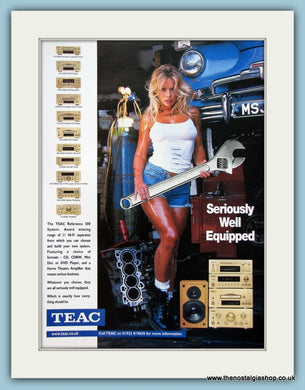 Teac Reference 500 System Original Advert 2000 (ref AD3860)