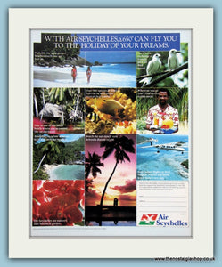 Air Seychelles Original Advert 1985 (ref AD2136)